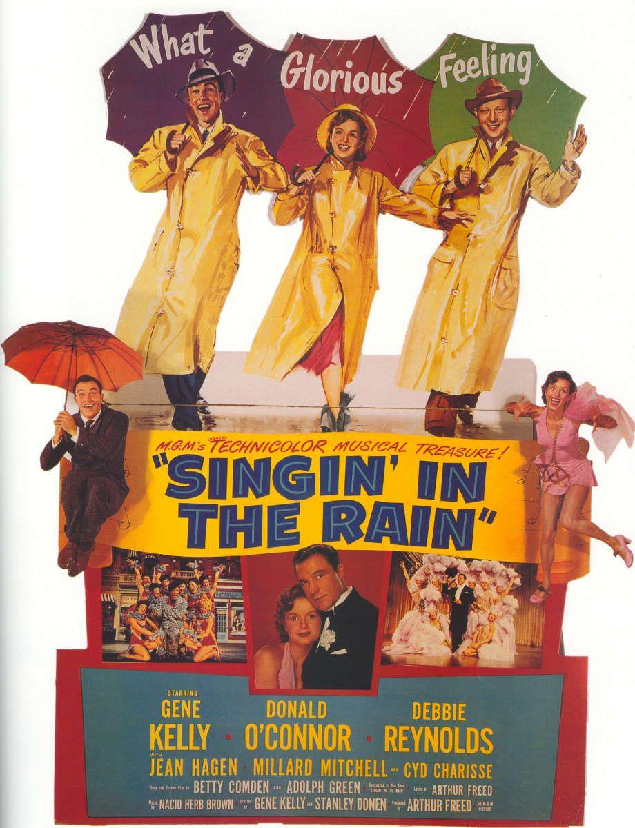 Singin In The Rain Poster Singin In The Rain Singing In The Rain Movies