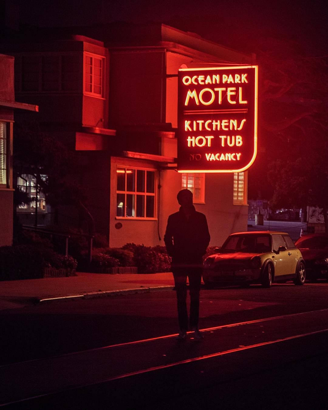 Ocean Park Motel By Mina Seville