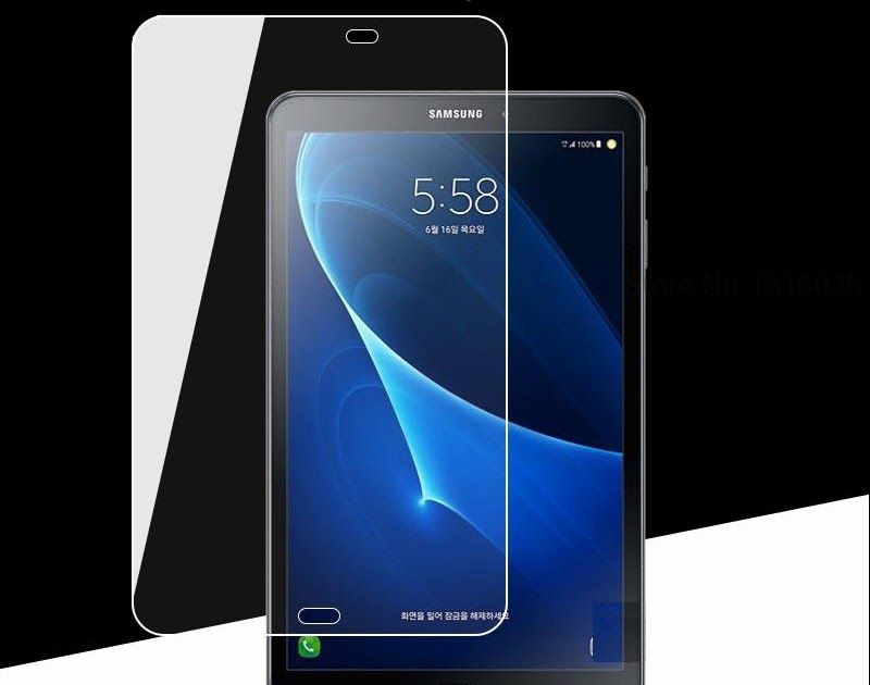 Best Seller Premium Tempered Glass For Samsung Galaxy Tab A A6 10 1 Inch 2016 T580 T585 Sm T580 Sm T585 Sm P580 Sm P585 Screen Protector