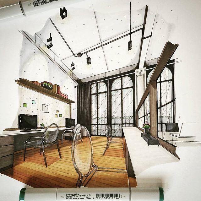 Innenarchitektur skizze  Pin von Robert Izeti auf Interior&exterior desing | Pinterest ...