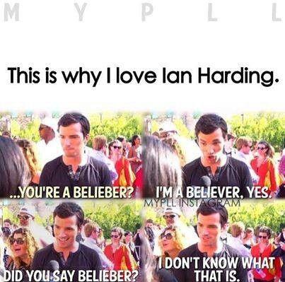 Ian Harding!!