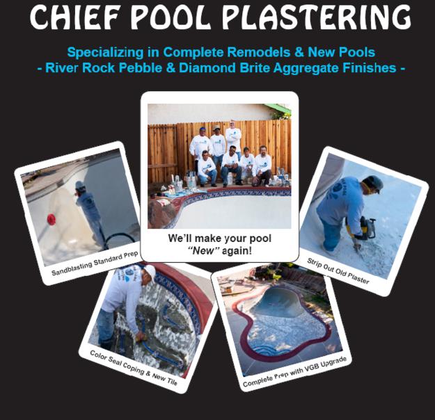 Sacramento Chief Pool Plastering Company Pool Plaster Pool Repair Pool