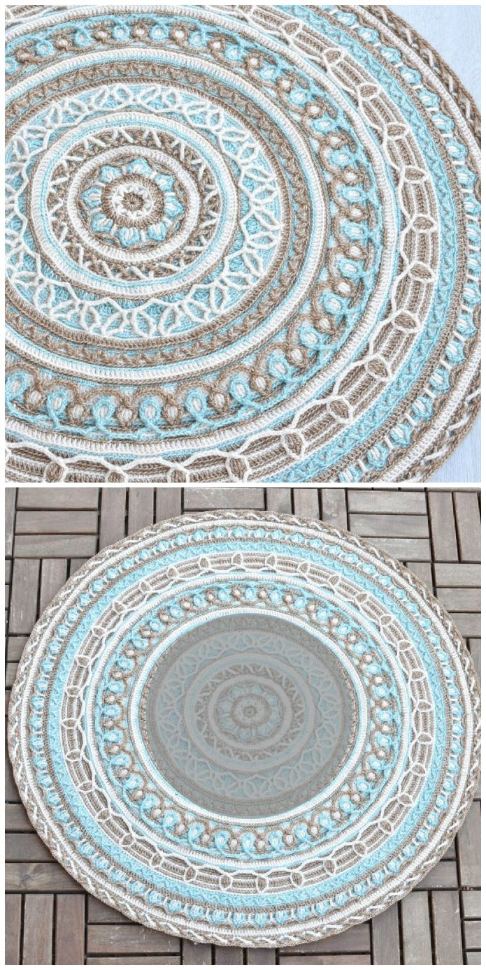 Crochet Mandala Pattern Ideas Youtube Video | The WHOot #crochetmandalapattern