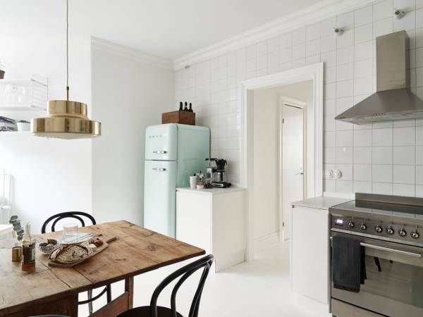 I wish I lived here: a clean, white Swedish home