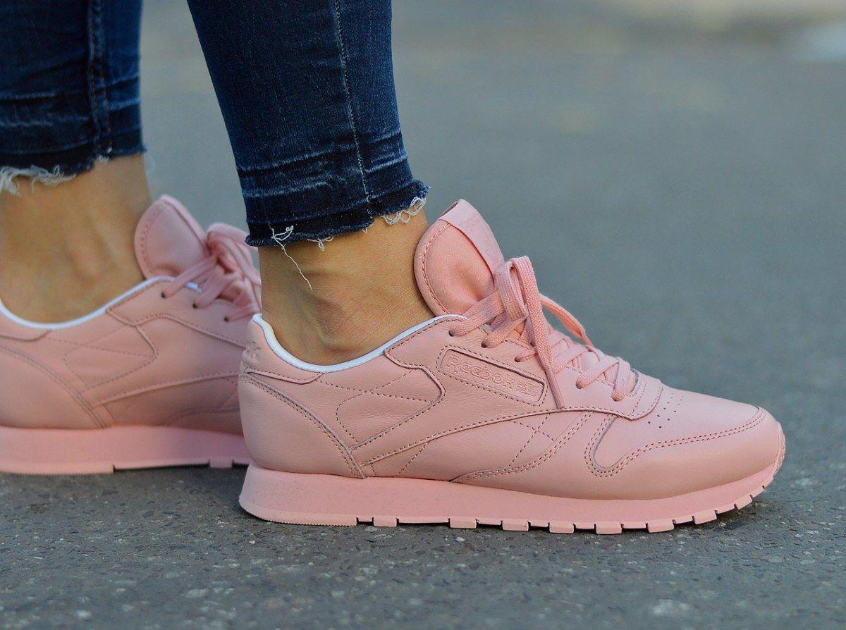 new styles 28060 cd023 Reebok Cl Lthr Pastels Bd2771 Women s Sneakers