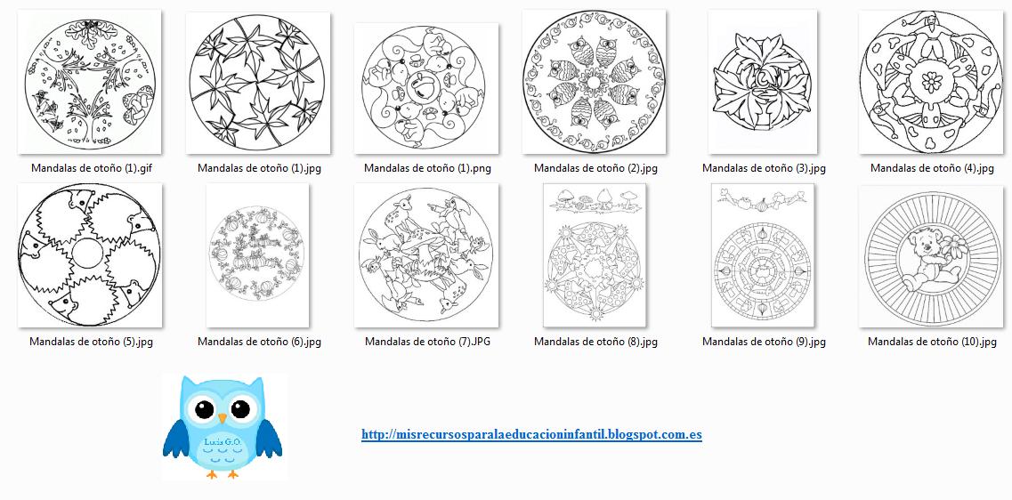 Descarga Las Mandalas Otoñales Dificultades Del Aprendizaje Estrategias De Aprendizaje Mandalas