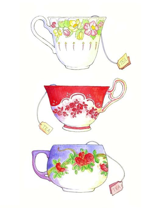 Make tea by Maia Kobabe #Illustrations   Illustrations and Sketches ...