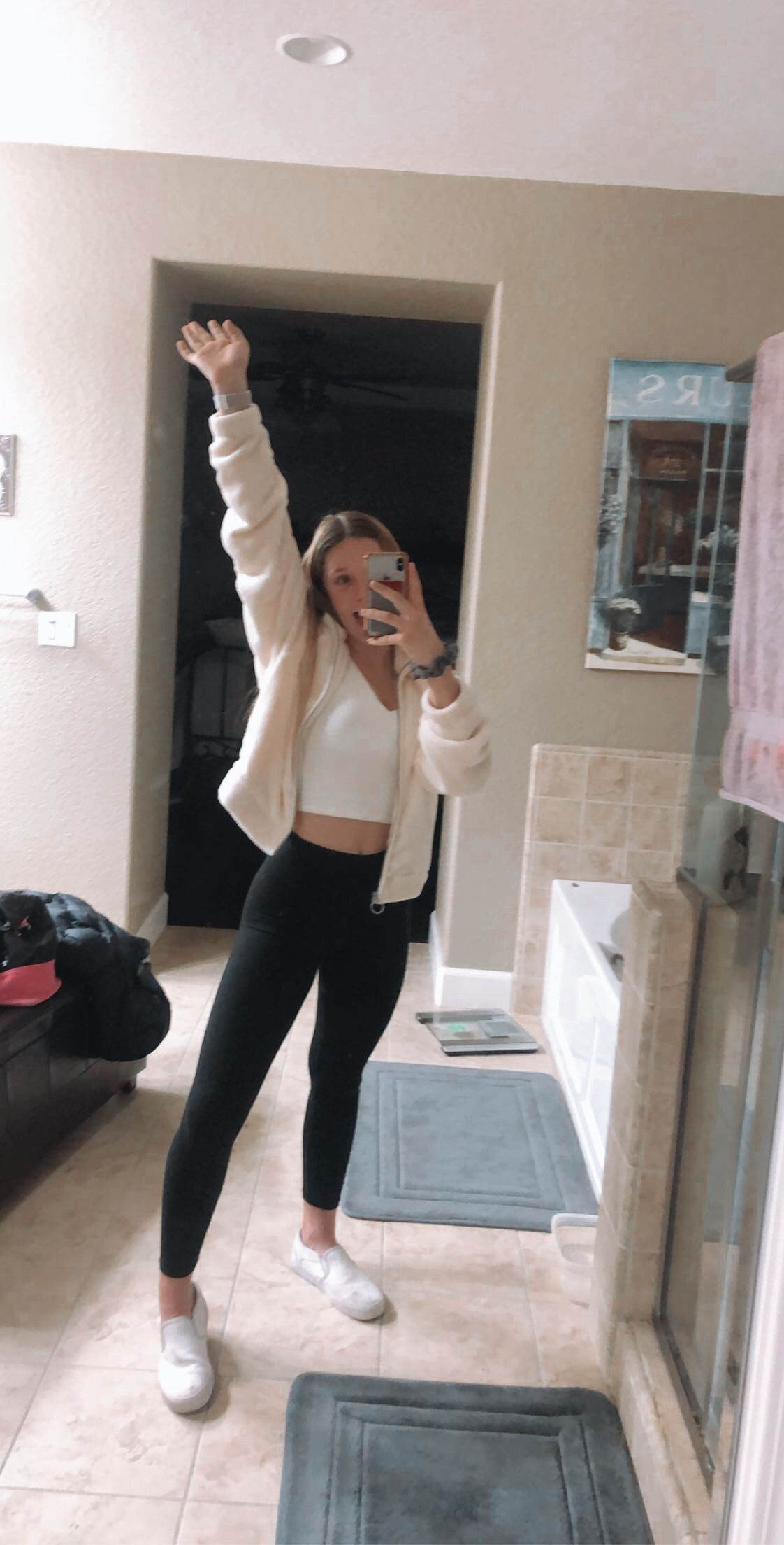 School Outfits With Leggings : school, outfits, leggings, Pinterest:, @elisecpp, Outfits, Leggings,, White, Outfits,