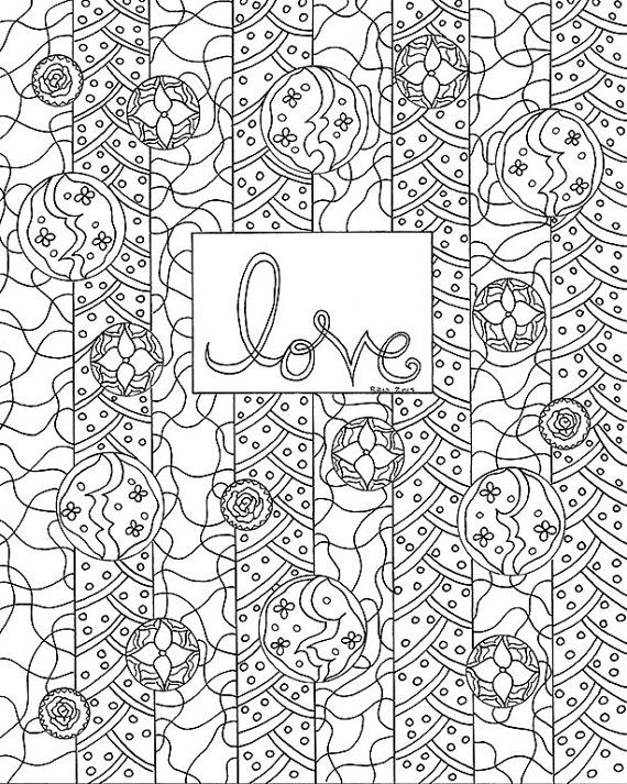 Inspirational Coloring Page Printable Instant By Wordsremember Coloringprintable Doodle Love