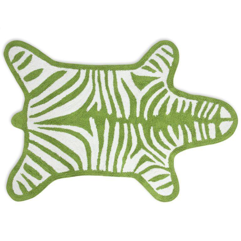 Reversible Zebra BathmatBath Mats - Reversible Zebra Bathmat