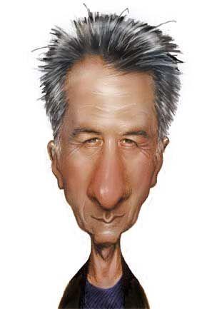 Dustin Hoffman (Ric Machin) Protagonista de la primera película para adultos  que ví