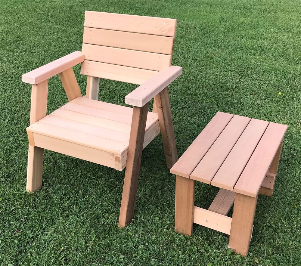 Horizontal Cedar Slats Chair W Arm Rests Hillsfield Collection Outdoor Furniture Pallet Garden Benches Rustic Outdoor Furniture