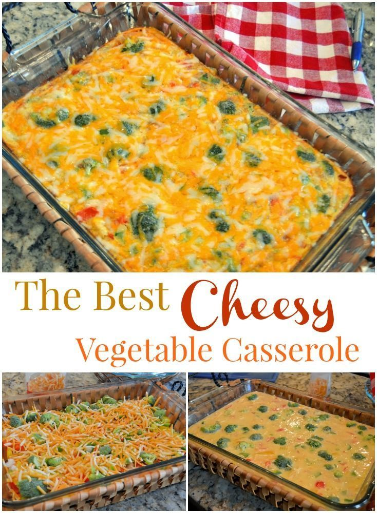 Cheesy Vegetable Breakfast Casserole- whether you are cooking for a crowd or Sunday brunch, Cheesy Breakfast Casserole is sure to be a winner! | |BEST Cheesy Vegetable Breakfast Casserole- whether you are cooking for a crowd or Sunday brunch, Cheesy Breakfast Casserole is sure to be a winner! | |
