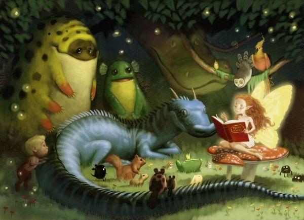 Fairy tales by Kei Acedera
