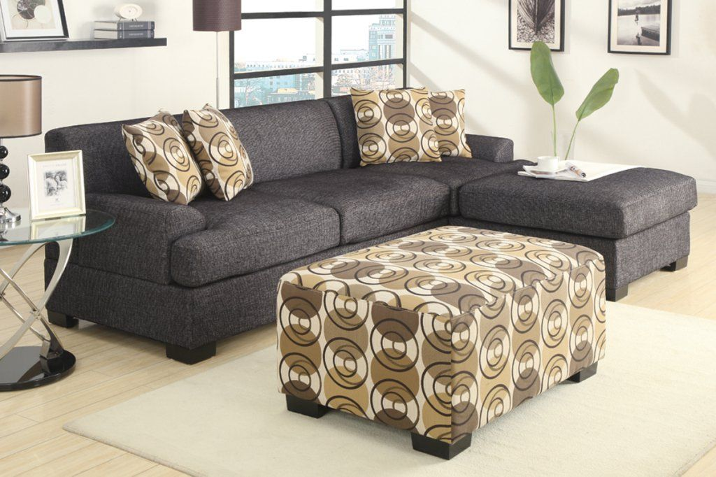 Hayward Ash Black Small Sectional Sofa At Gowfb Ca Urban Cali Free Shipping