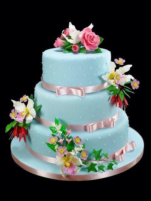 Susannah S Kitchen 17 Blue Romantic Wedding Cake Ideas Diy