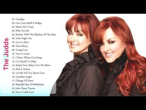The Judds Greatest Hits Playlist -The Judds Collection | Music moves