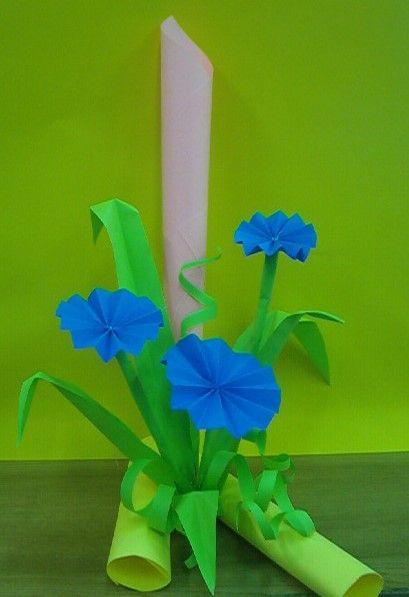 Kwiaty Z Papieru Ikebana Prace Plastyczne Dariusz Zolynski Flowers Paper Paper Flowers Orgiami Kirigami Paper Flower Vase Paper Crafts Paper Flowers