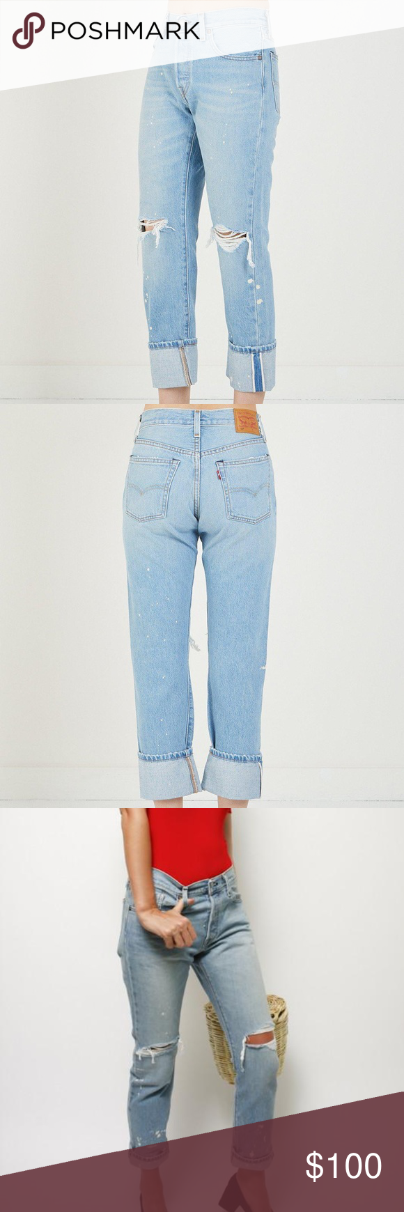 ba369ebf2854 Levi's 501 Selvedge Jeans Explicit Lyrics Wash New with tags 501 Original  fit sold out everywhere
