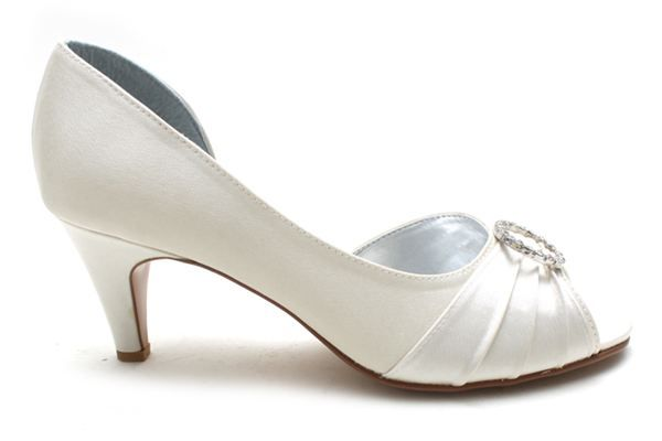 HARMONY Vintage Low Heel Wedding Shoes | Shoes | Pinterest ...