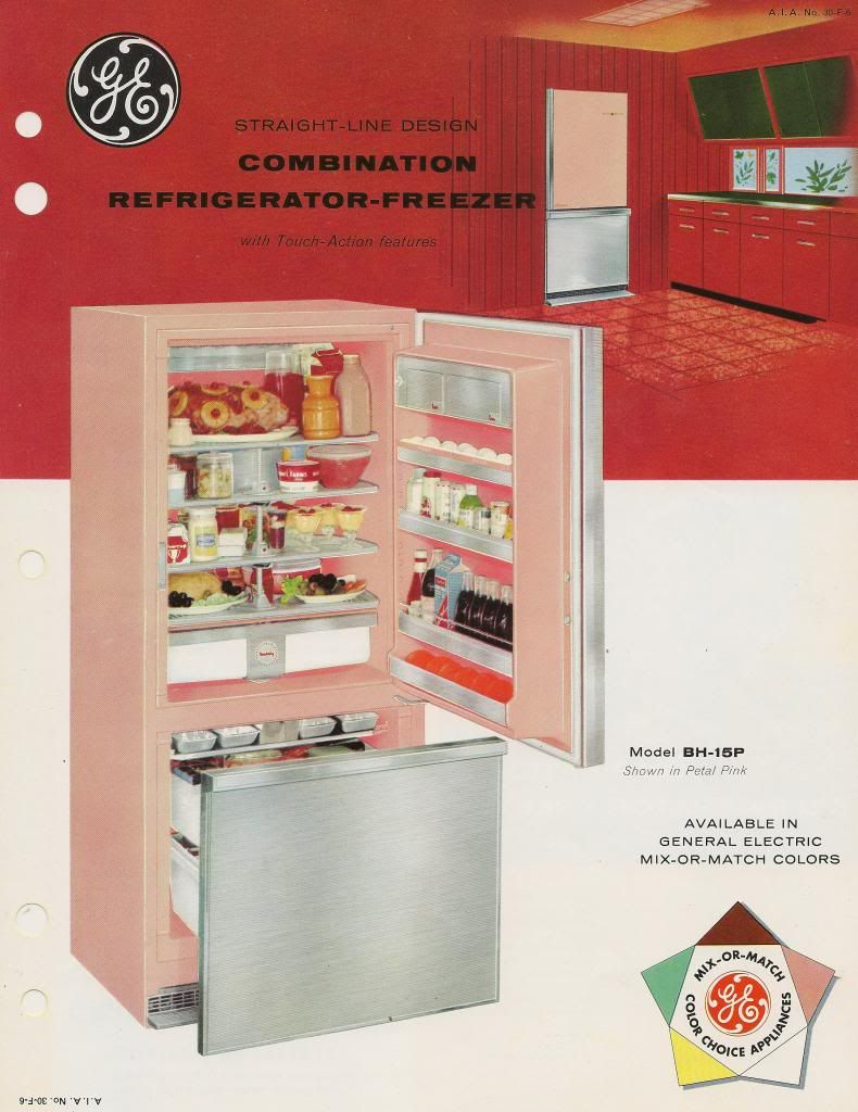 Update On The 1957 Ge Combination Refrigerator Very Cool But