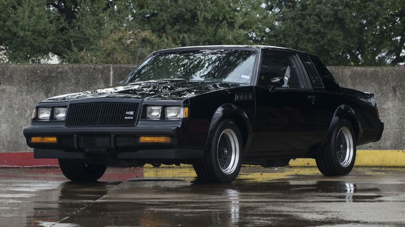 1987 Buick Gnx 1 Buick Grand National Buick Buick Cars