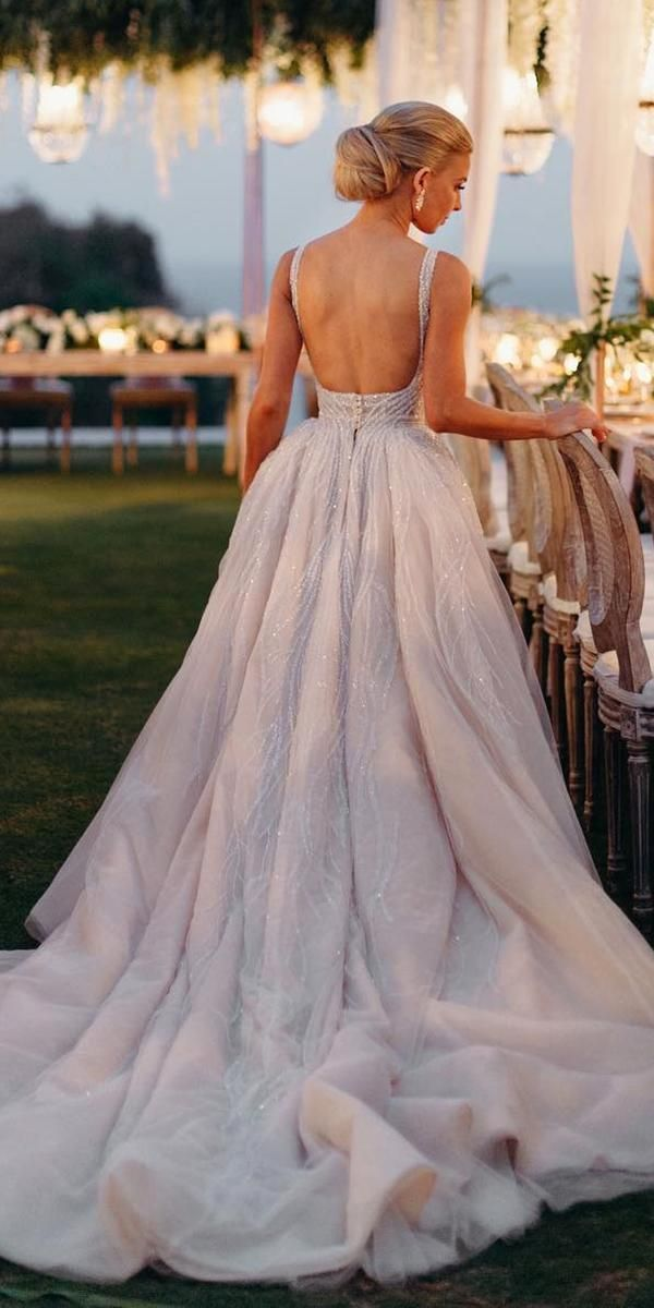 24 Awesome Ball Gown Wedding Dresses You Love #blush_wedding #Gown