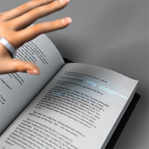 Snowcorn: Another Sixth Sense Device Concept by Mac Funamizu, via Behance
