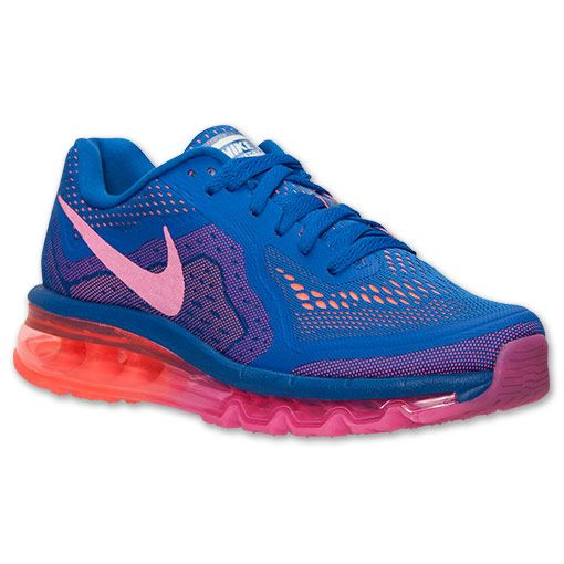 buy online 29d29 9e127 ... czech womens nike air max 2014 running shoes finish line game royal hyper  pink 77c38 65260