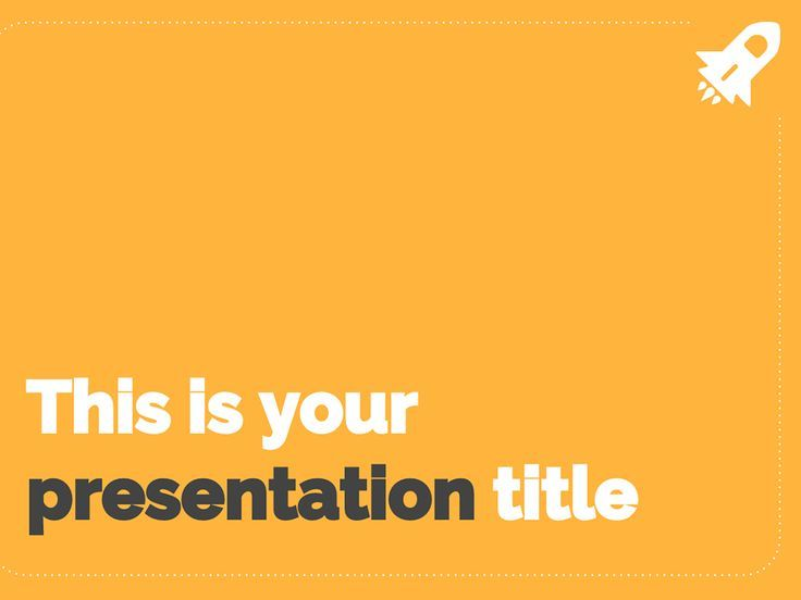 Free Fresh And Simple Powerpoint Template Or Google Slides Theme