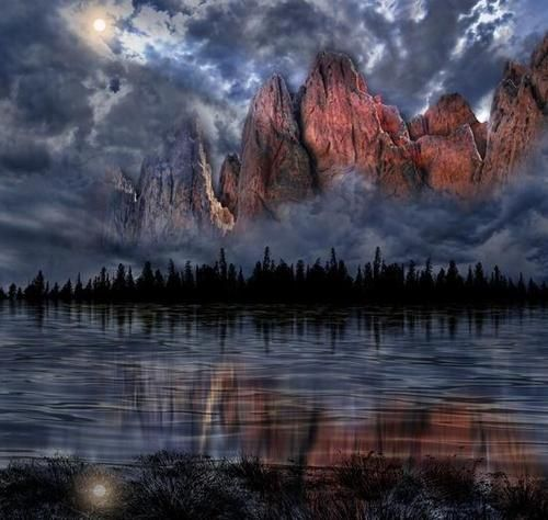 Reflection by Cresentmoon.