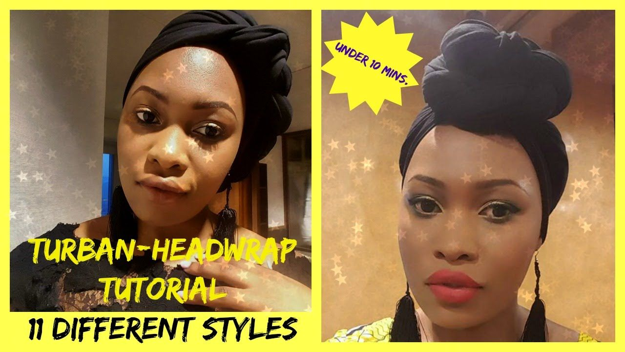 Scarf Styles For Short Natural Hair Best 2018
