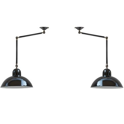 Solingen I Bauhaus Gelenk Deckenleuchte Ein Solingen Paar Fur Lange Tische Lampe Beleuchtung Bauhaus