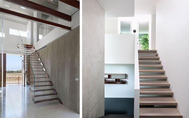 Escaleras modernas - Ideas para decorar con escaleras voladas