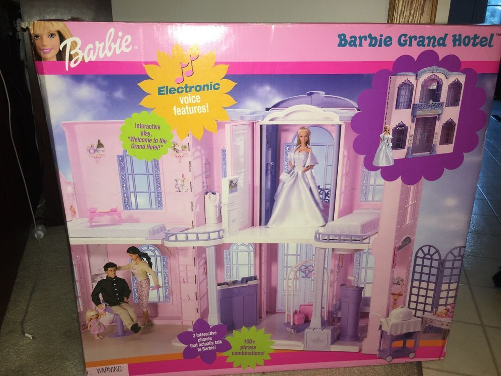 Barbie Grand Hotel Brand New 5 Deluxe Rooms Vintage Rare