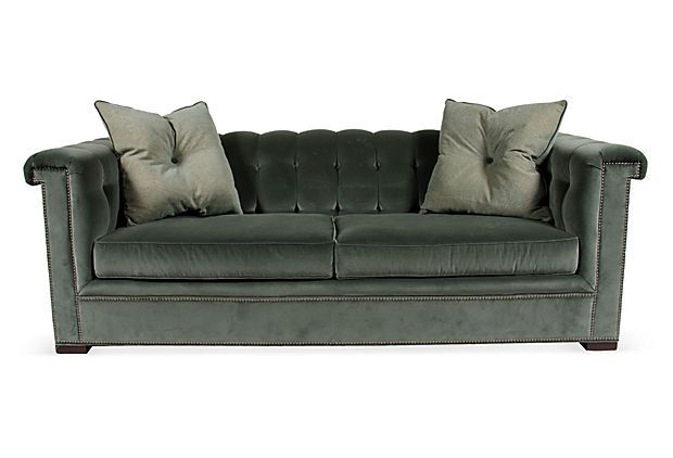 Cool Hickory Chair Kent Tufted Sofa Frontrunner Has Nailhead Pdpeps Interior Chair Design Pdpepsorg