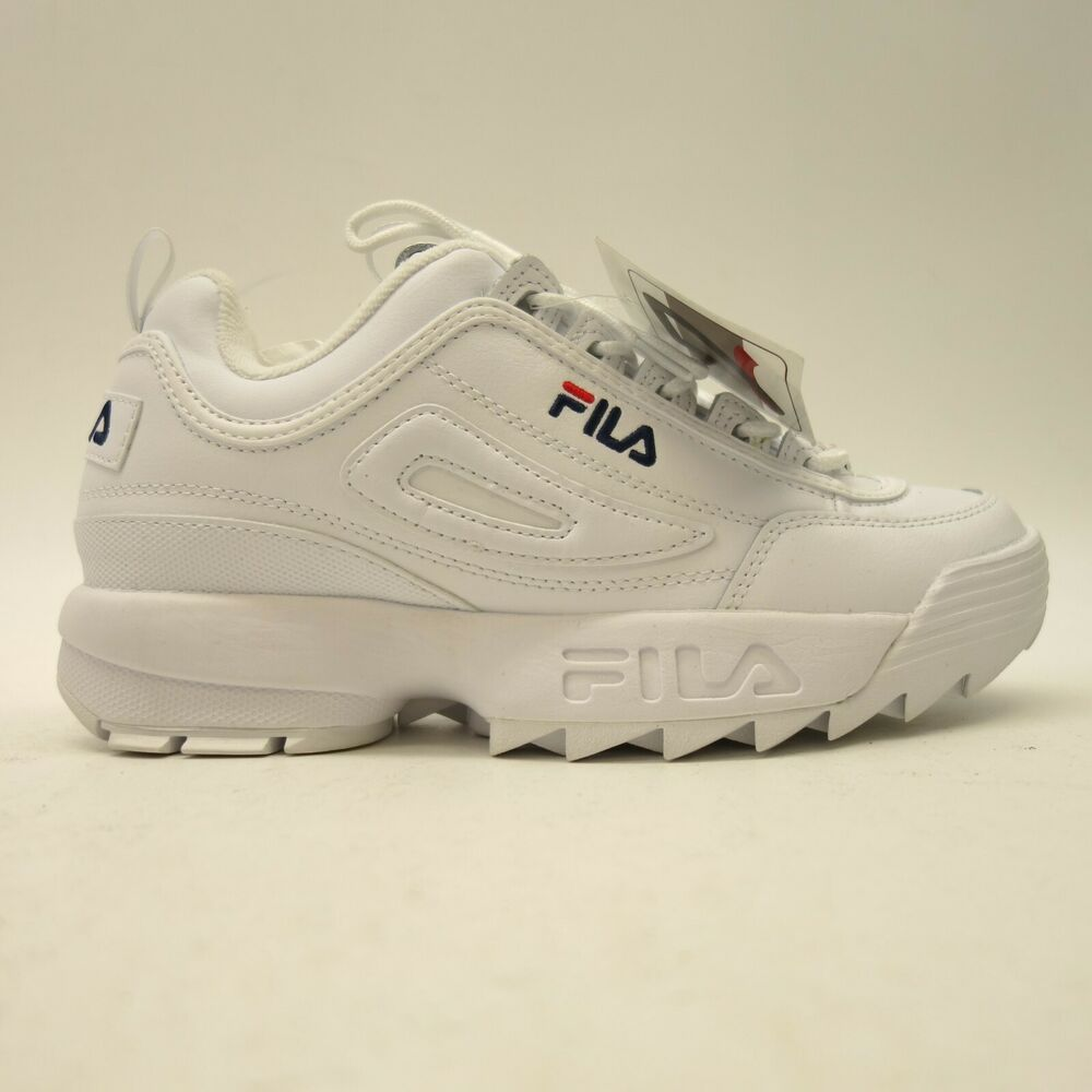 6f72bc462bb FILA Womens US 10 EU 40 Disruptor II Original White Premium Shoes Sneakers # FILA #Walking