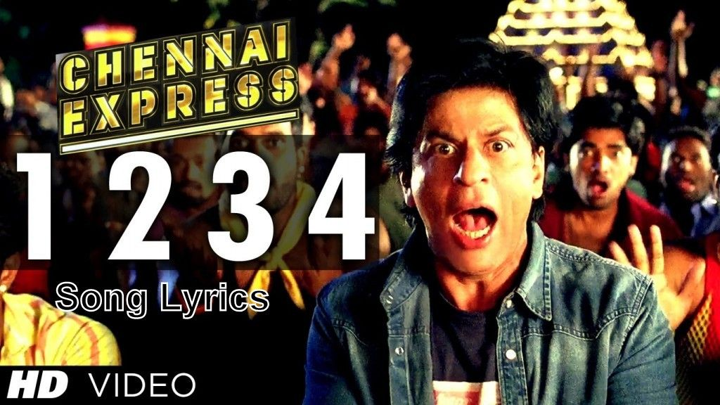1 2 3 4 Get On The Dance Floor Song Lyrics from Chennai Express ...