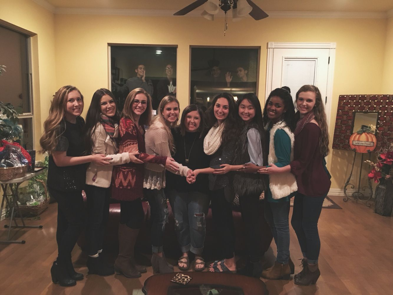 Squadsgiving 2015 (minus some of the guys)