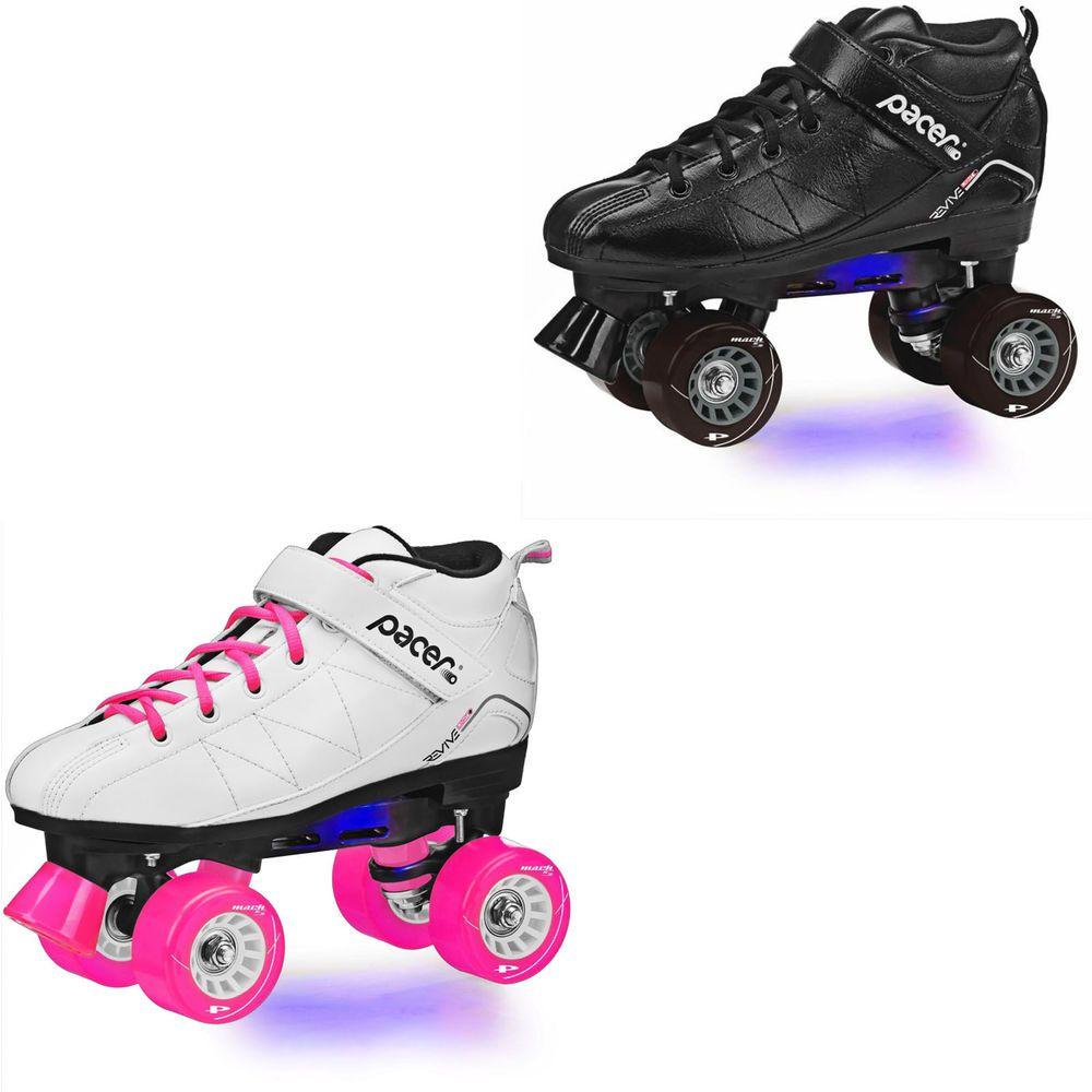 Roller skates light up - Details About Pacer Revive Led Light Up Roller Skate Men Size 3 12