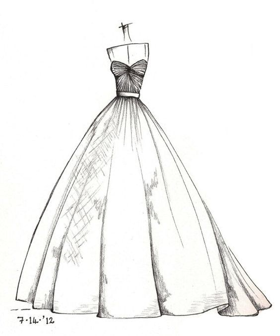 Fashion Coloring Source Etsy Com Croquis De Moda Ilustracoes