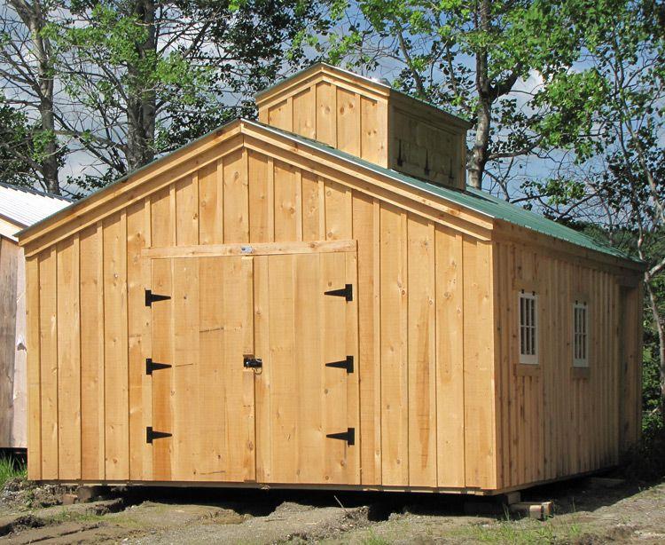 Large Sugar Shacks (14x, 16x, 20x | House, Garage doors and Cabin