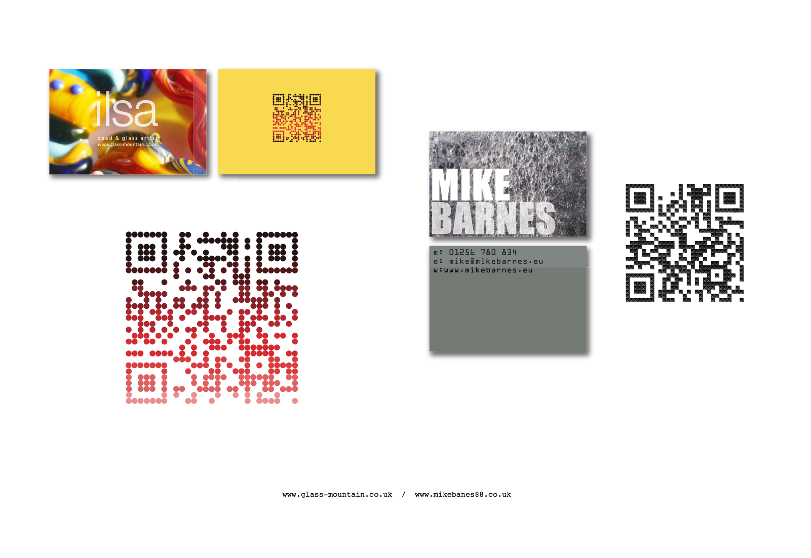 Very nice qr code design book jeremycole qr code business cards very nice qr code design book jeremycole reheart Images