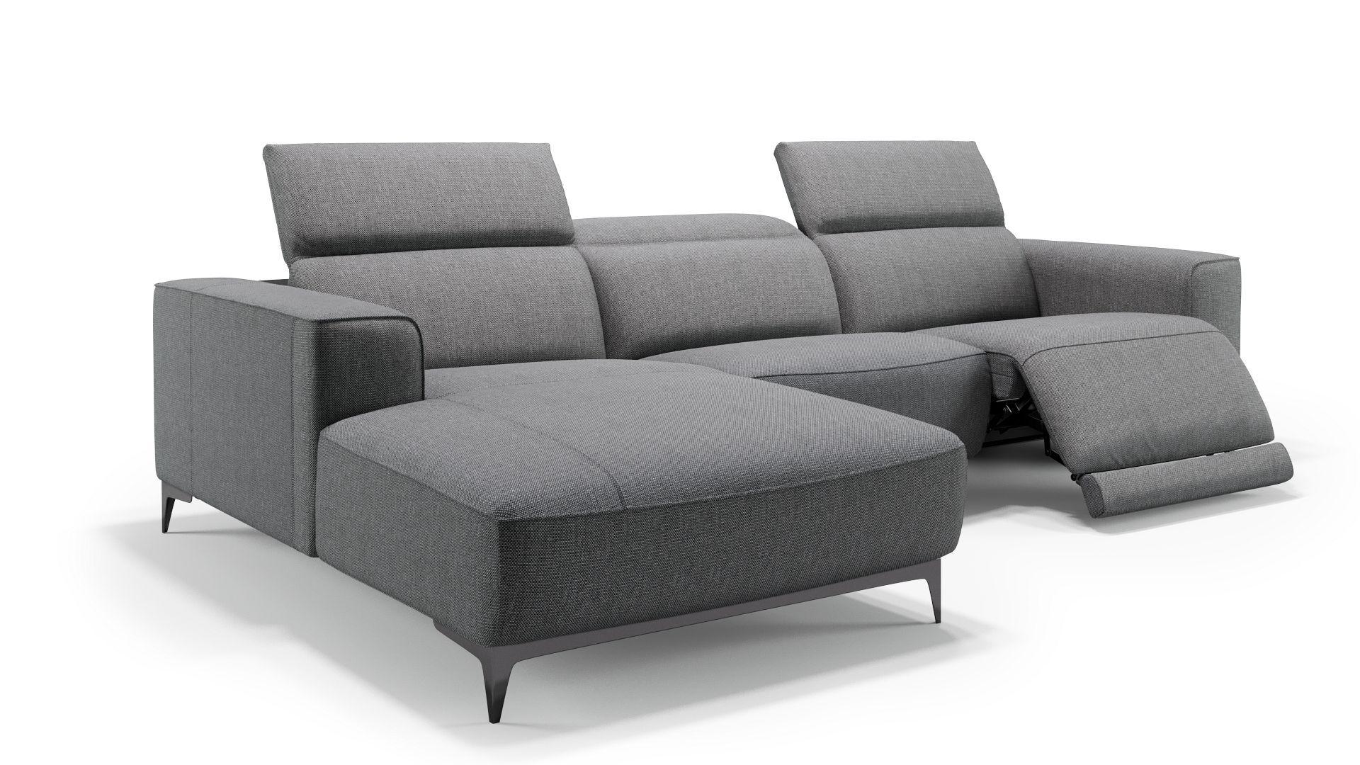 Liebenswert Couch Mit Relaxfunktion Beste Wahl Details Elektrische Per Knopfdruck An Einem Sitz