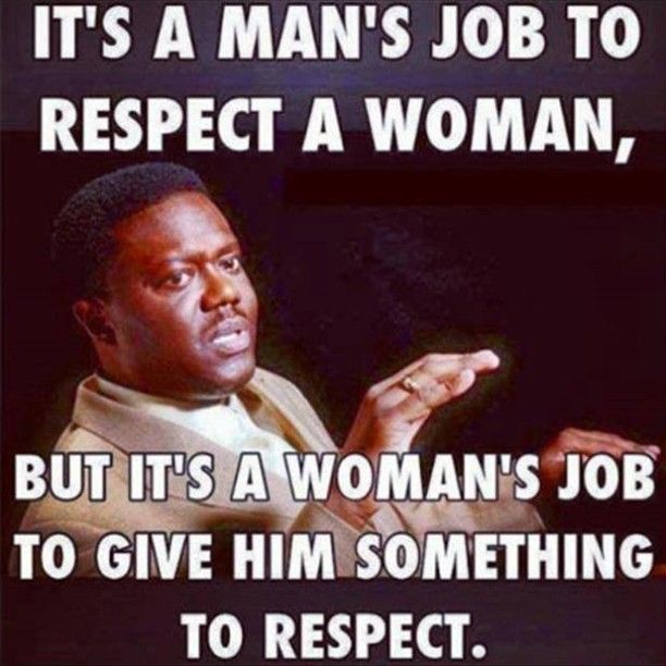 An interesting perspective on the respect level some men have towards women.