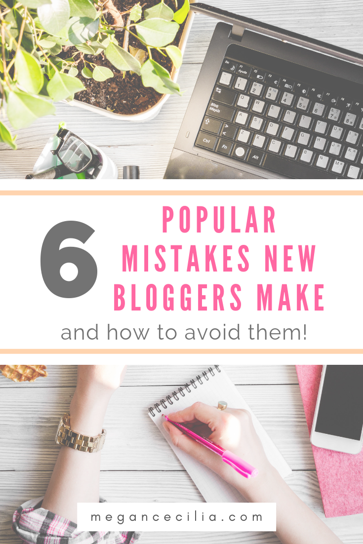 Want To Know What Mistakes I Made When I Started Blogging Learn These Six Mistakes New Bloggers Make And Fin Beginner Blogger Blogging For Beginners Blog Tips