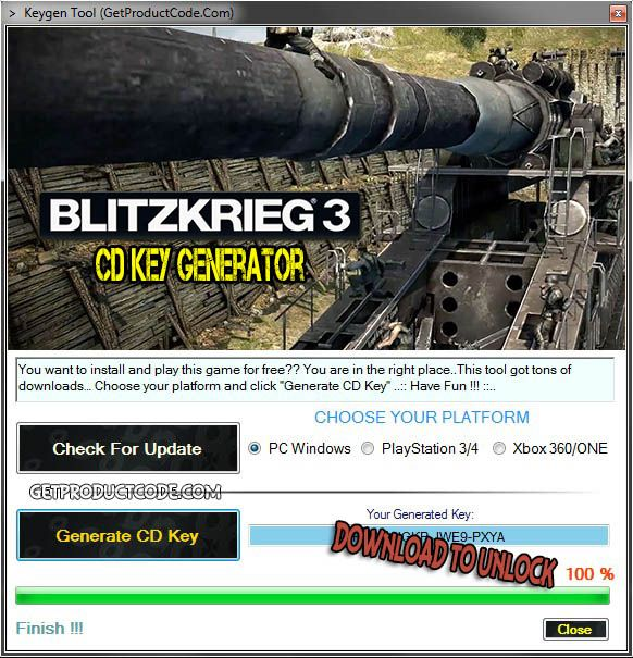 blitzkrieg 3 cd key generator free game keygens and. Black Bedroom Furniture Sets. Home Design Ideas