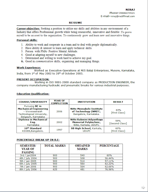 Example Of Excellent Resume Curriculum Vitae Canada Example Free Download Sample Template .