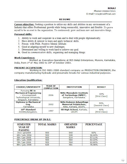 Format Of Resume In Canada Curriculum Vitae Canada Example Free Download Sample Template .