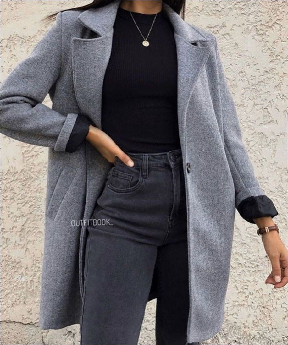 55+ Magnificient Winter Outfits Ideas To Wear Right Now - Wass Sell